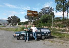Peter de Wit, eigenaar van Elmabv, doet mee aan PANAMERICANA 2011-2012 Volvo Classic Adventure.